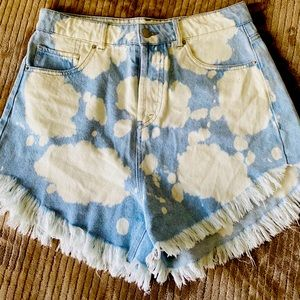 Target - Wild Fable bleached shorts